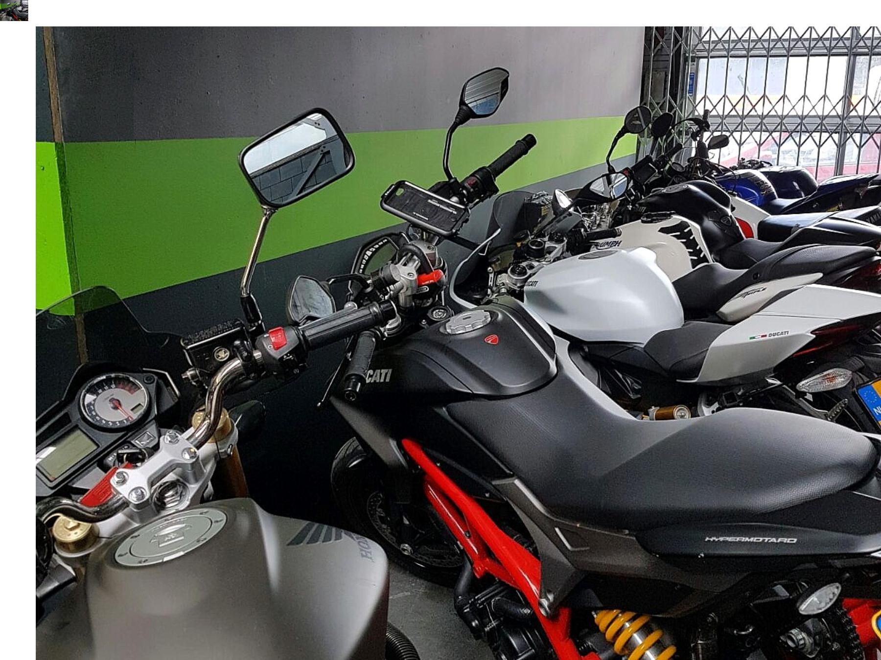Winterstalling voor je motor bij Fris Motorservice in Amsterdam.