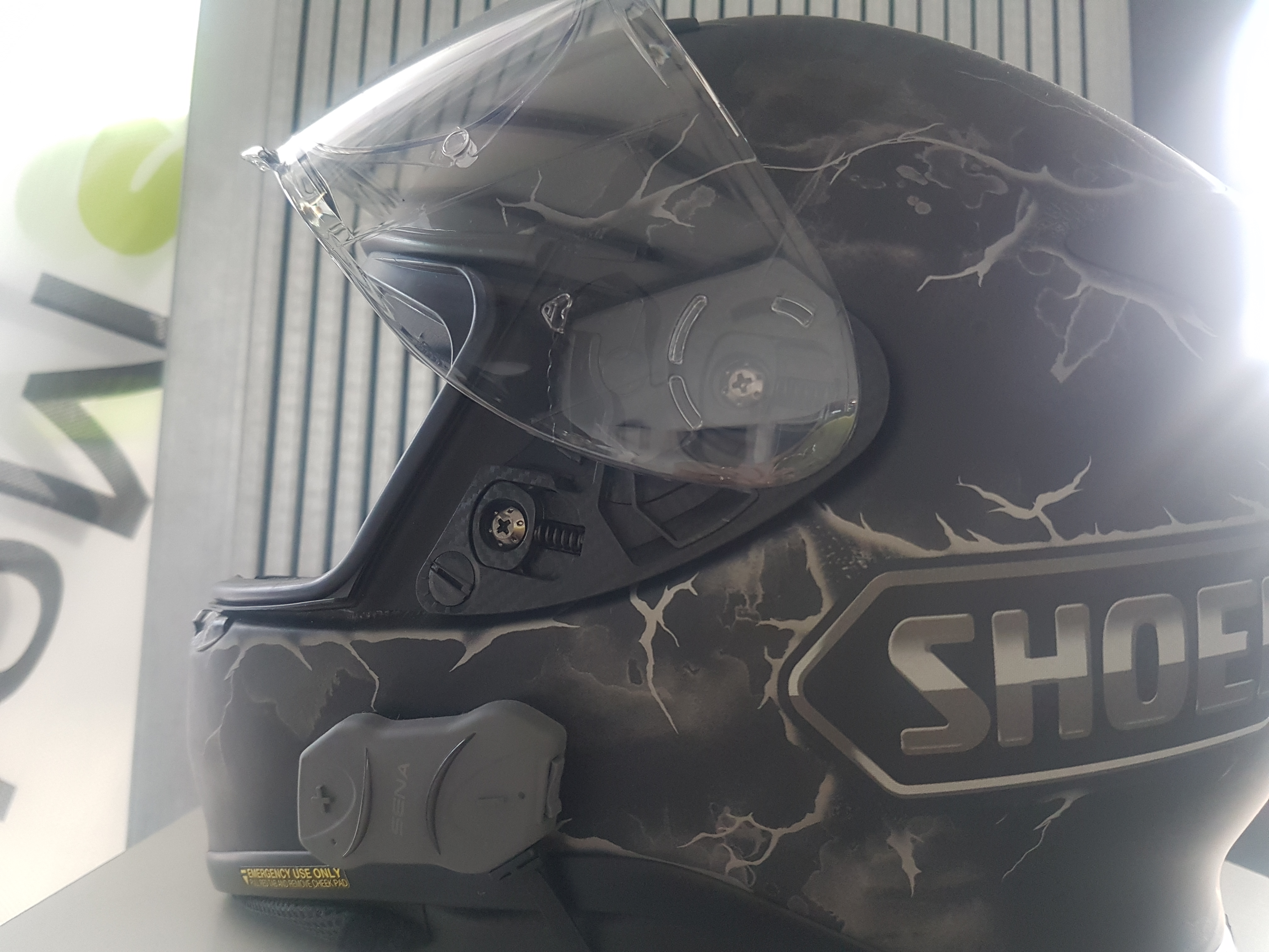 SENA bluetooth headset voor in je motorhelm